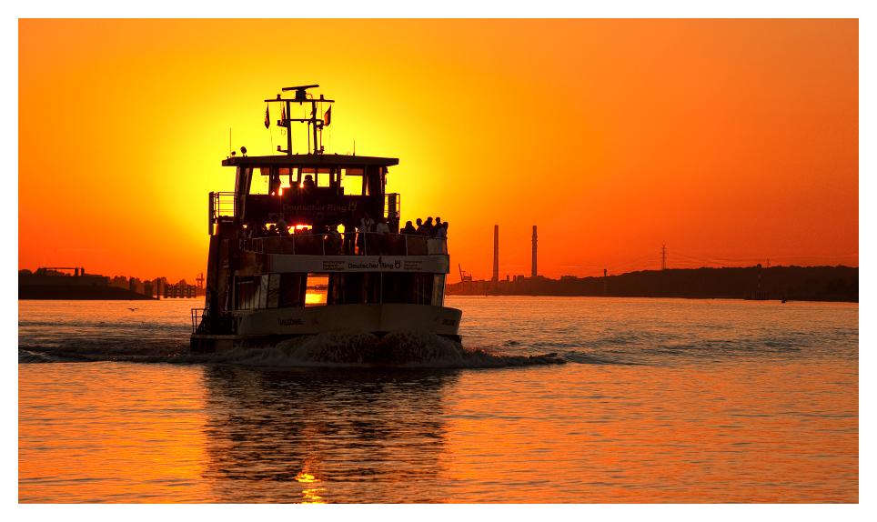 Fährschiff Övelgönne