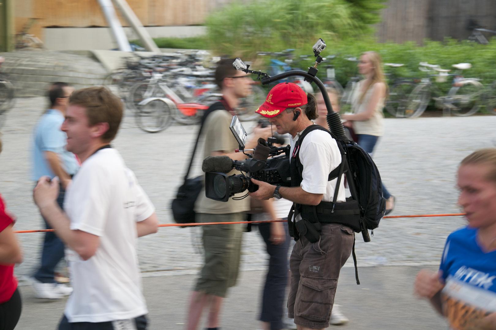 Fahrende Kamera