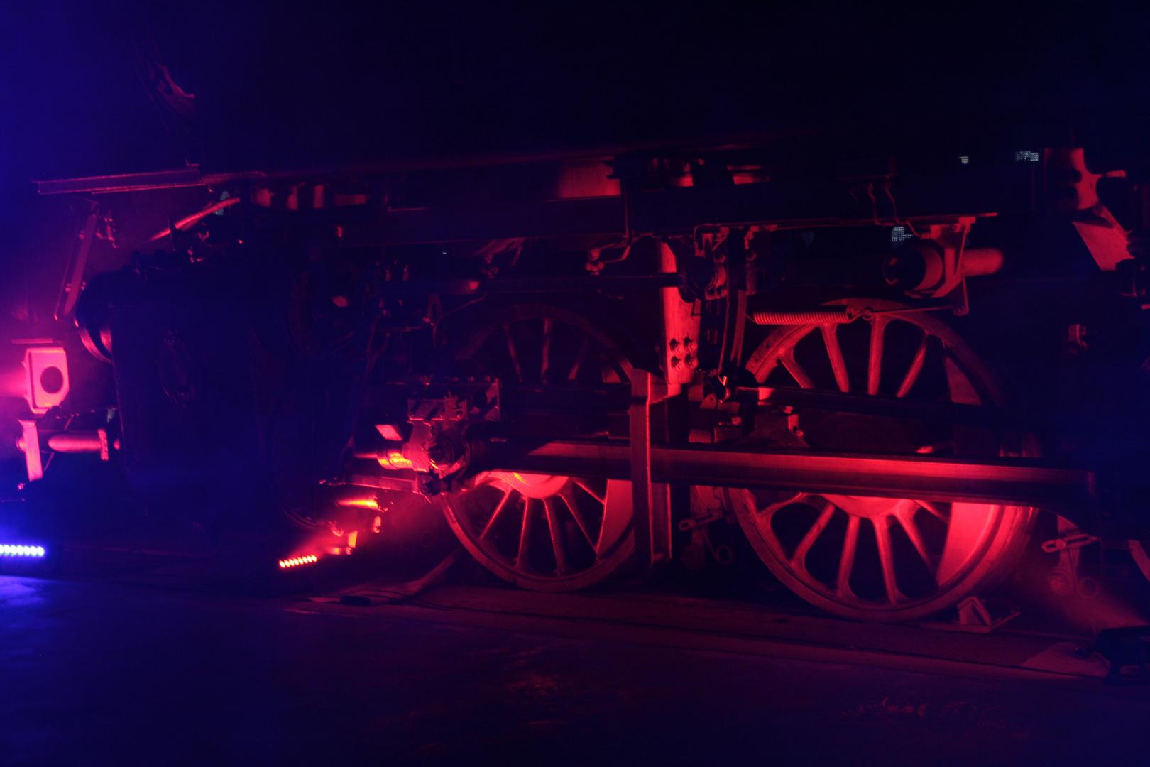 Fahrgestell einer Dampflock