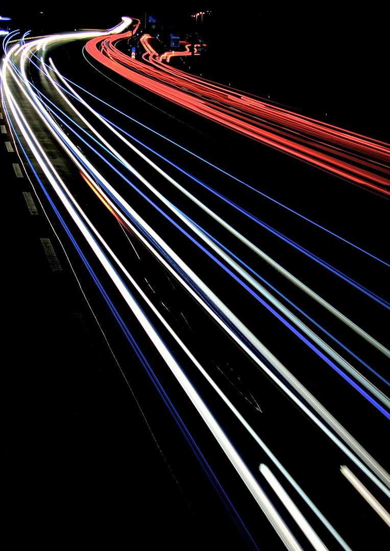 Fahrn , fahrn, fahrn auf der Autobahn ... ... ...