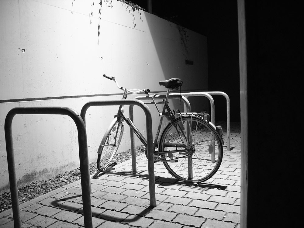 Fahrrad bei Nacht !