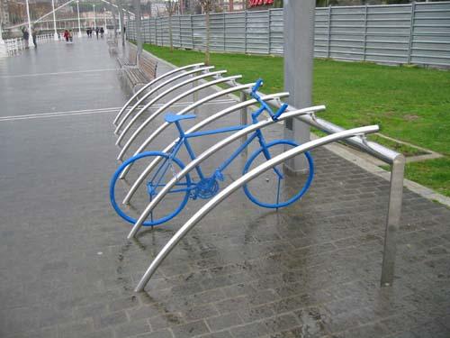 Fahrrad einstellen in Bilbao