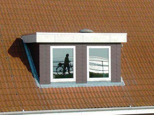 Fahrrad im Fenster ?
