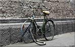 Fahrrad im Matena-Tunnel