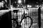 Fahrrad in verwackelter Stimmung