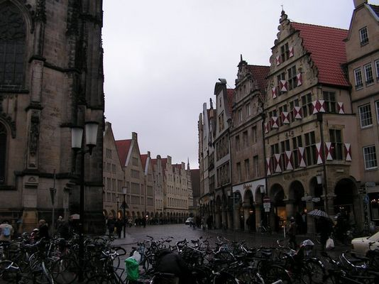 Fahrrad, Regen,...- Münster!