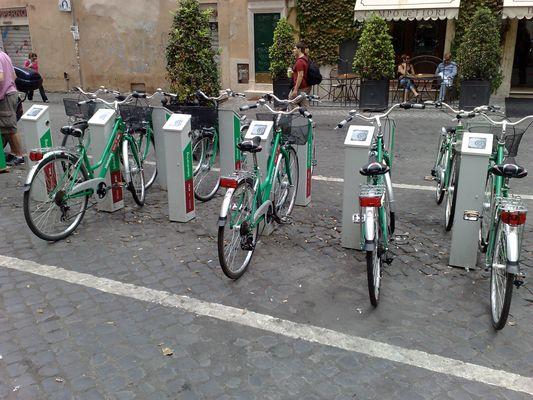 Fahrradautomat (Rom)