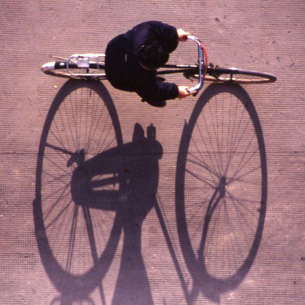 Fahrradfahrer - Shanghai