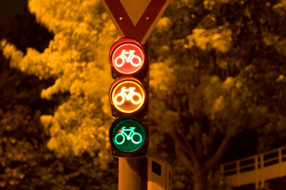 Fahrradfahrerampel