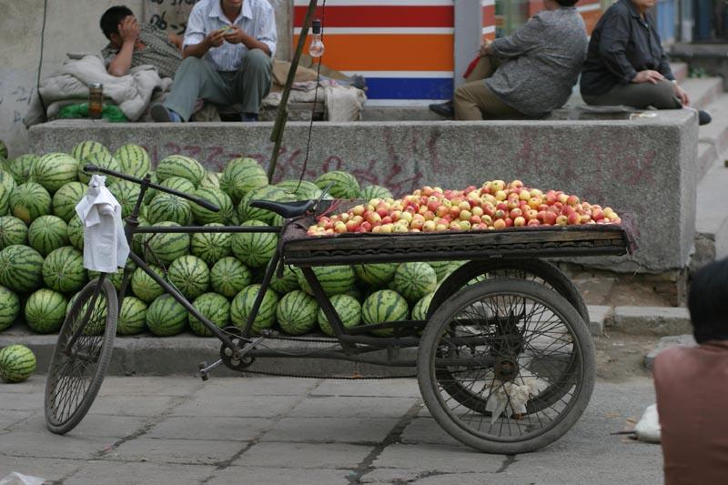 Fahrradmarkt in Datong