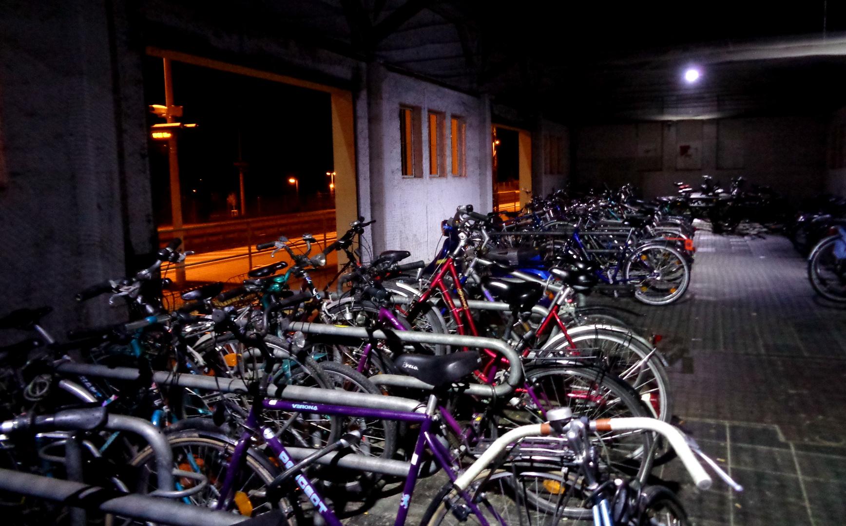 Fahrradschuppen am Bahnhof Heitersheim