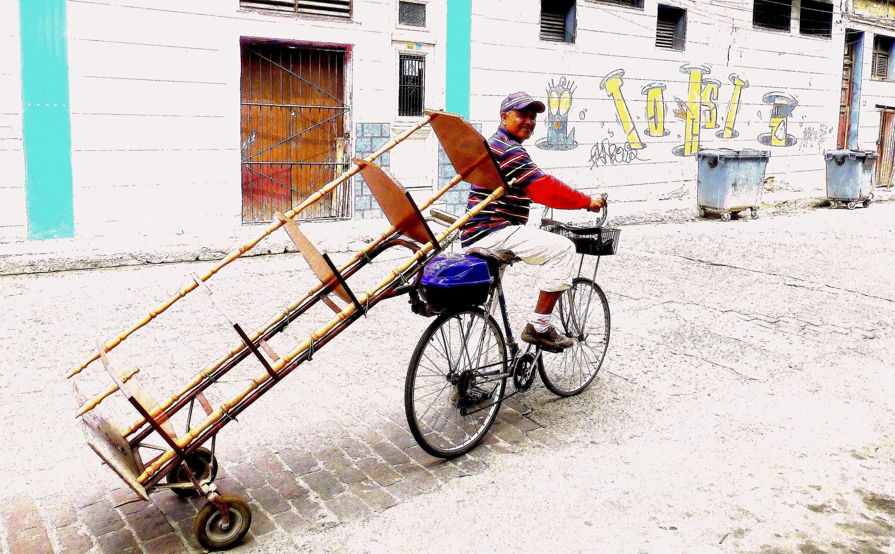 < Fahrradtransporter >