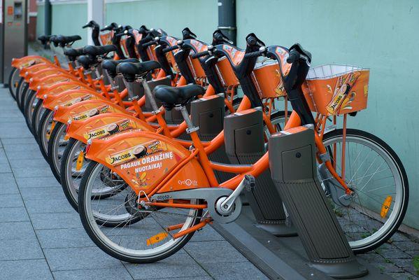 Fahrradverleih in Vilnius