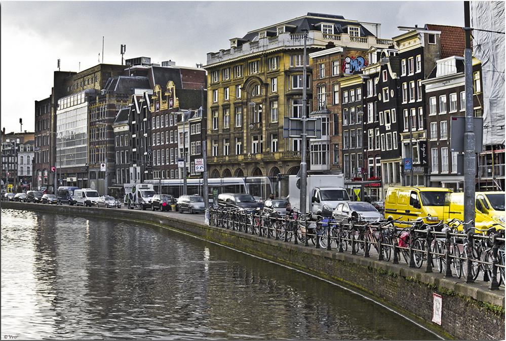 Fahrräder bestimmen das Stadtbild