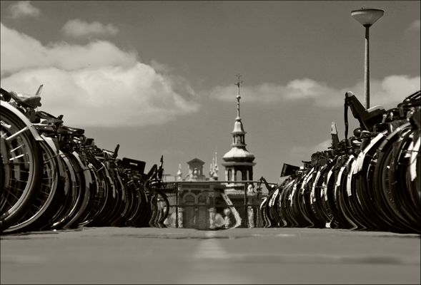 Fahrräder in Amsterdam 5