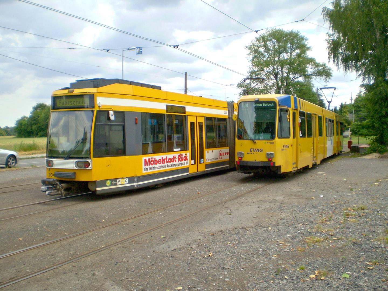 Fahrschule trifft Linienwagen