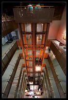 Fahrstuhl im Stilwerk