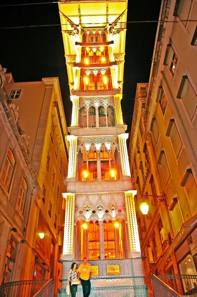Fahrstuhl in Lissabon