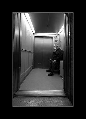 Fahrstuhlführer auf Helgoland