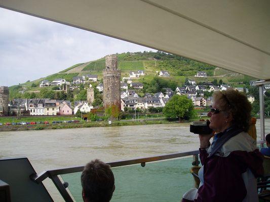 Fahrt auf dem Rhein von St.Goar- Rüdesheim 2007