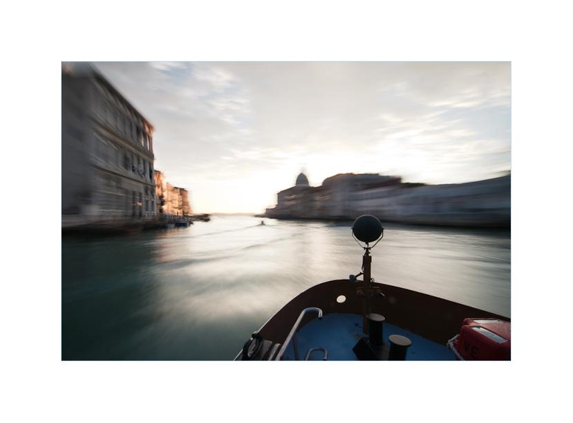 Fahrt auf den Canal grande
