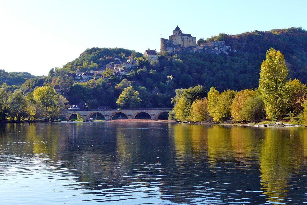 Fahrt auf der Dordogne bei La Roque-Gageac