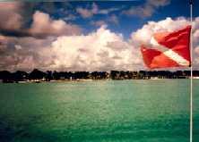 Fahrt auf einem Tauchboot . Dom.Rep. 2001
