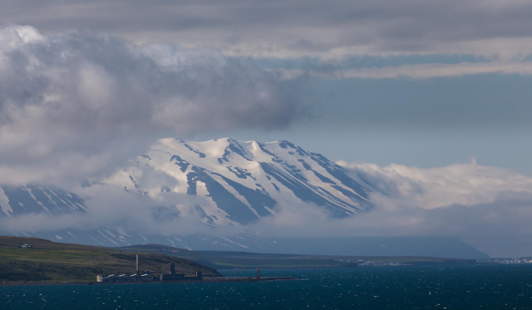 Fahrt durch den Eyjafjord