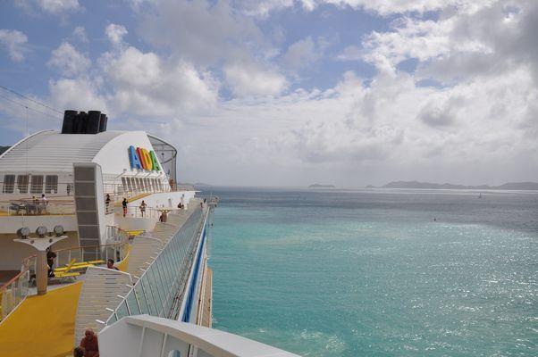 Fahrt durch die Karibik