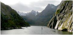 Fahrt in den Trollfjord