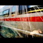 Fahrt in der S-Bahn