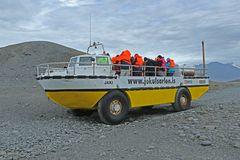 Fahrt in die Gletscherlagune Jökulsárlón (Island)