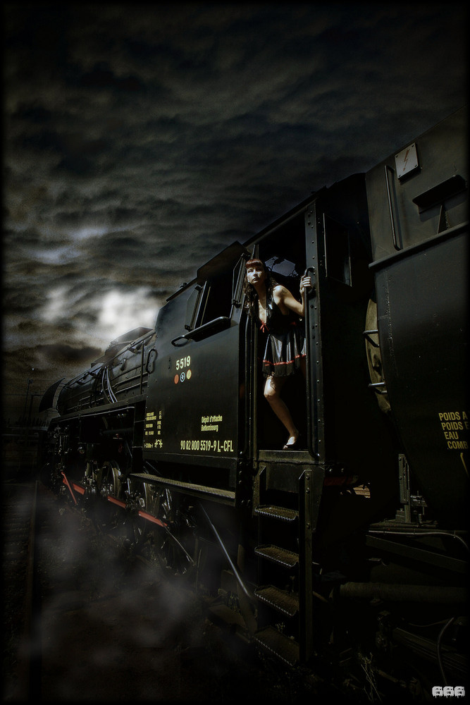 Fahrt in die Nacht