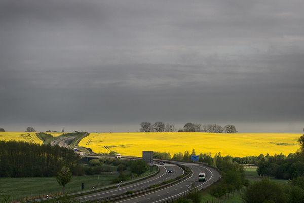 Fahrt ins Gelbe