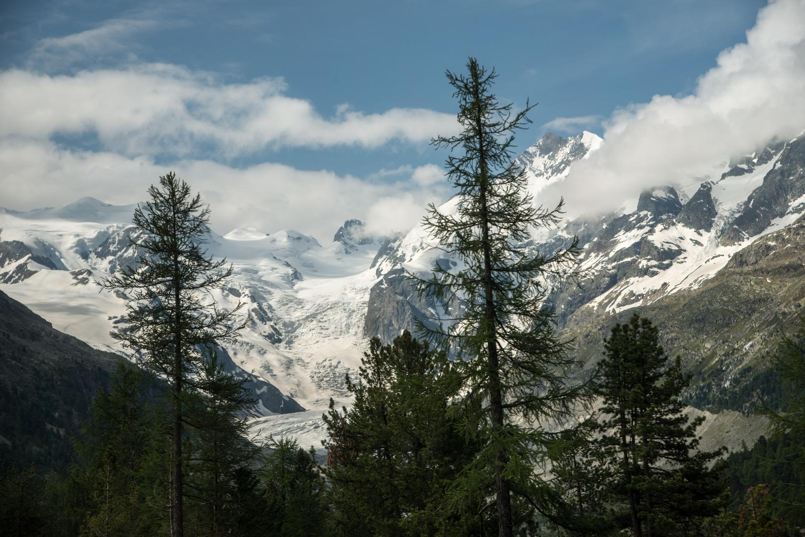 Fahrt mit dem Bernina Express