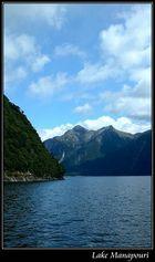 Fahrt über den Lake Manapouri