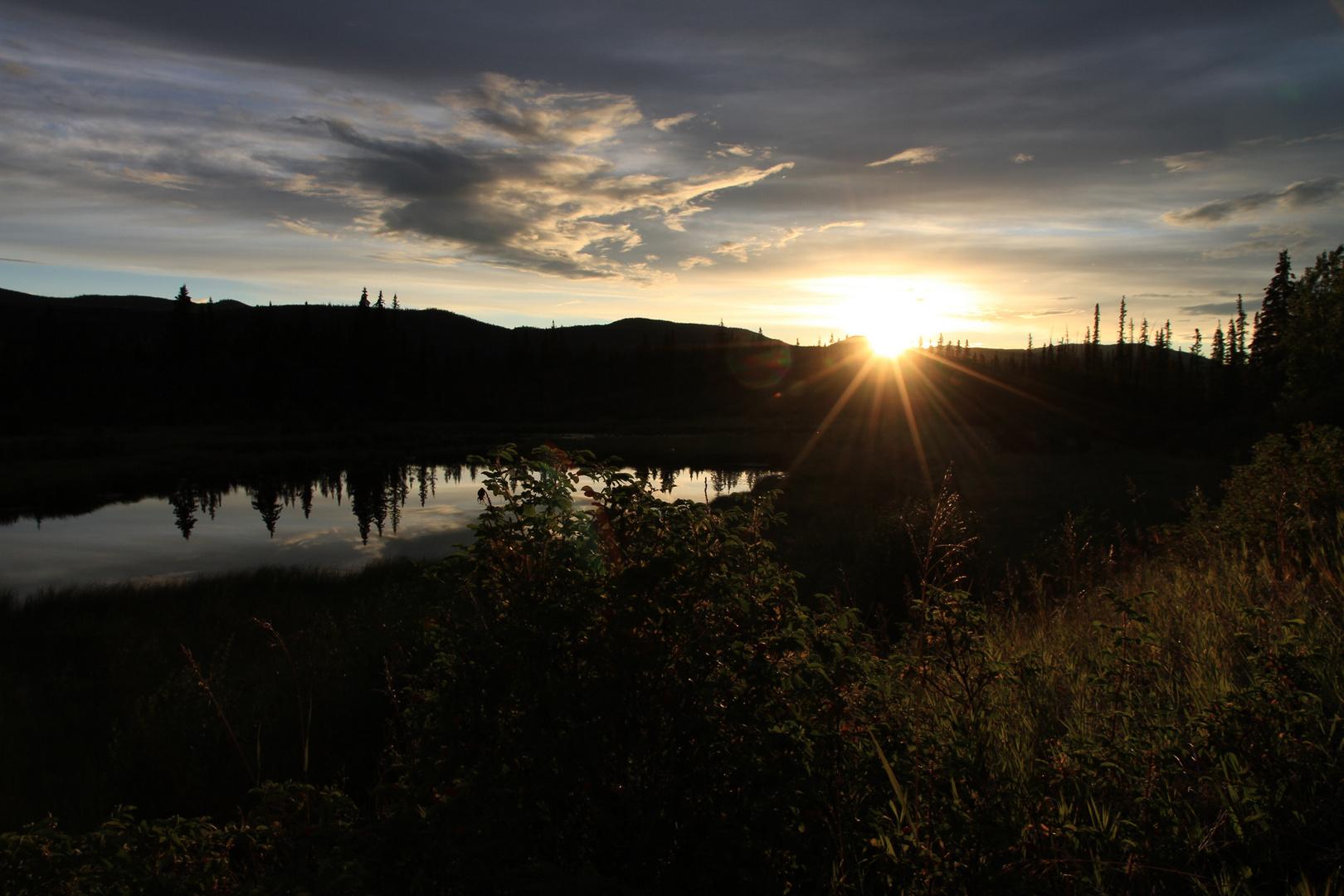 Fahrt von Dawson City nach Whitehorse