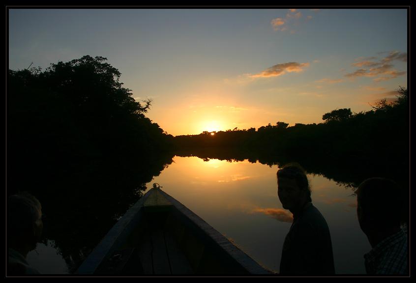 Fahrt zum Lago Petexbatún