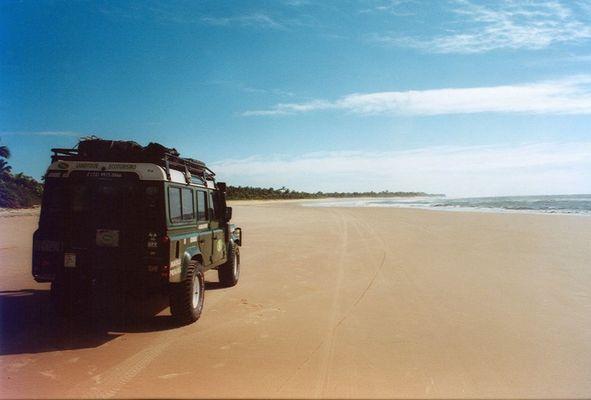 Fahrt zur Ilha do Maraú