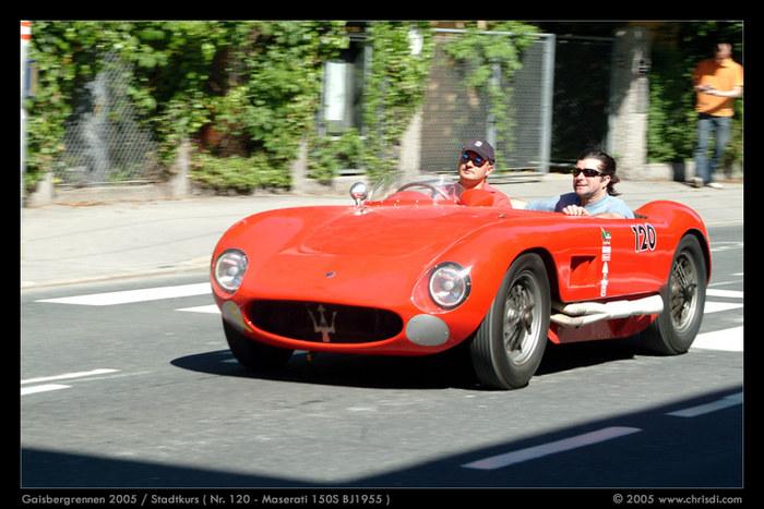 Fahrtwind im Maserati 150S