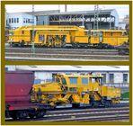 Fahrzeuge für den Gleisbau