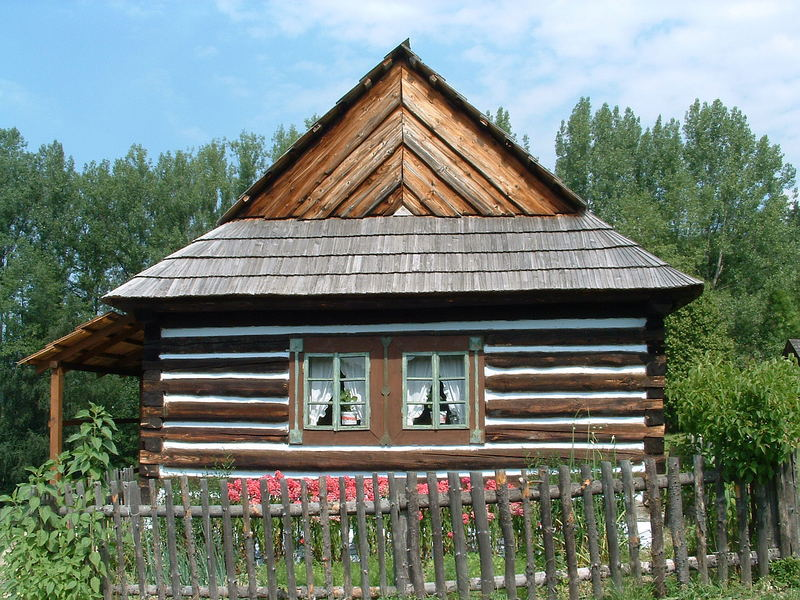 Fairy tale wooden house