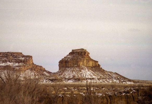 Fajada Butte , Chaco Canyon , New Mexico