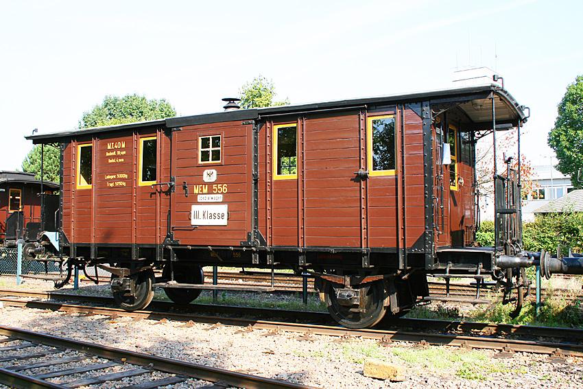 Fakultativwagen Cgi 556 der Museumseisenbahn Minden