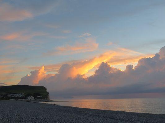 falaise de Criel sur Mer