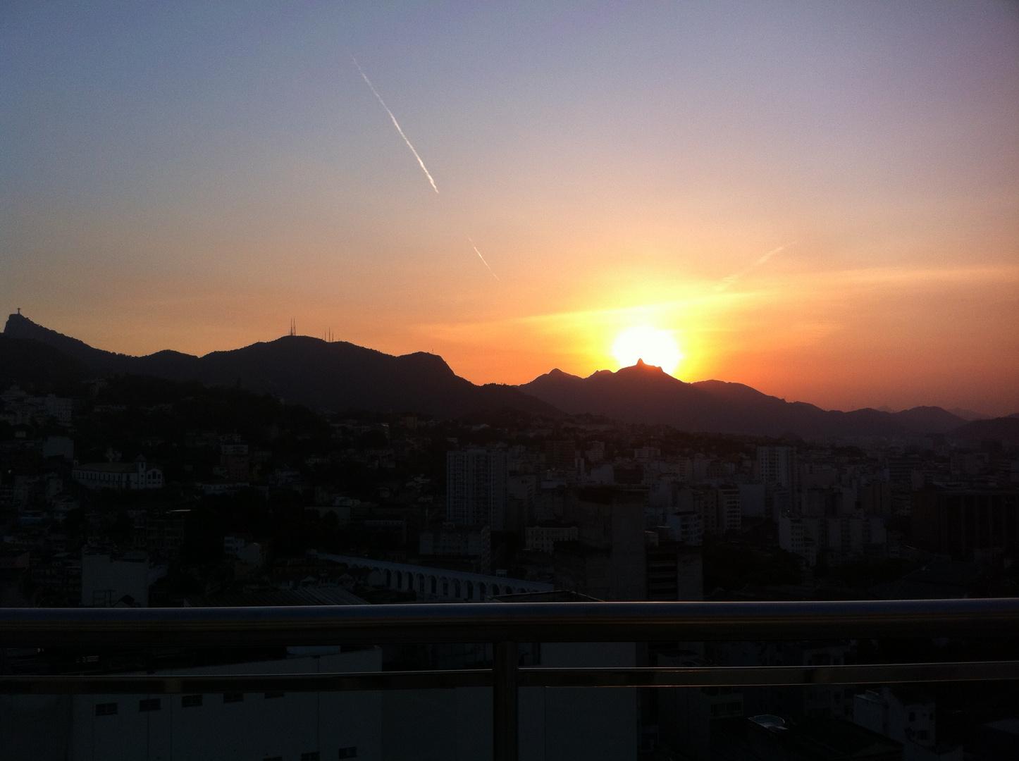 Falling Sun over Corcovado