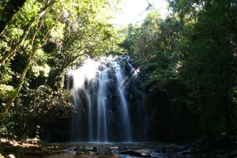 falling waters - Elinja Falls