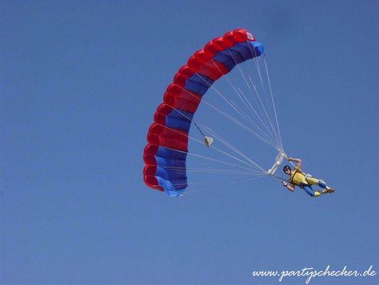 Fallschirmsprung / Gand Canaria
