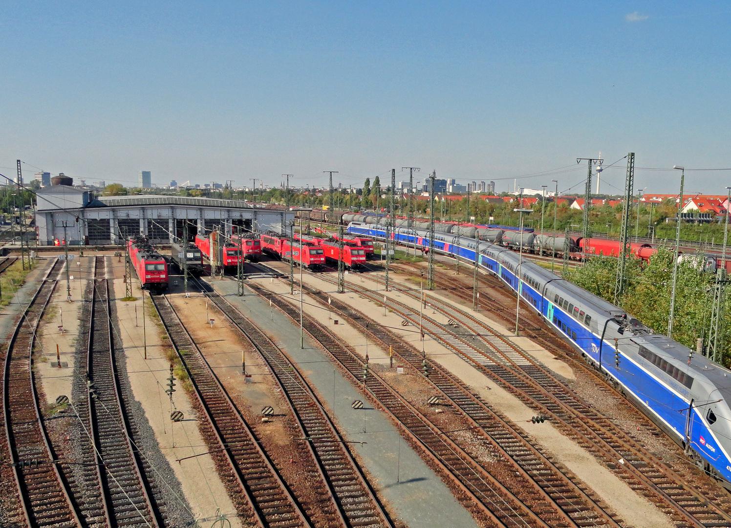 Falscher Bahnhof