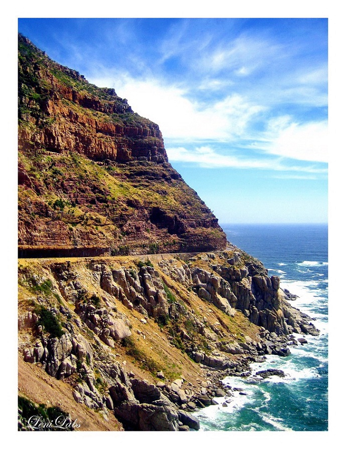 """False Bay - Panoramastraße - Kapstadt - Südafrika"""